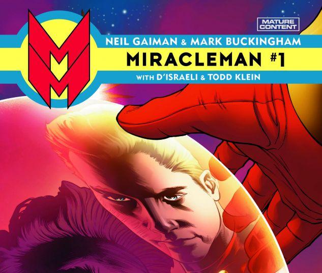 MIRACLEMAN BY GAIMAN & BUCKINGHAM 1 QUESADA VARIANT (POLYBAGGED)