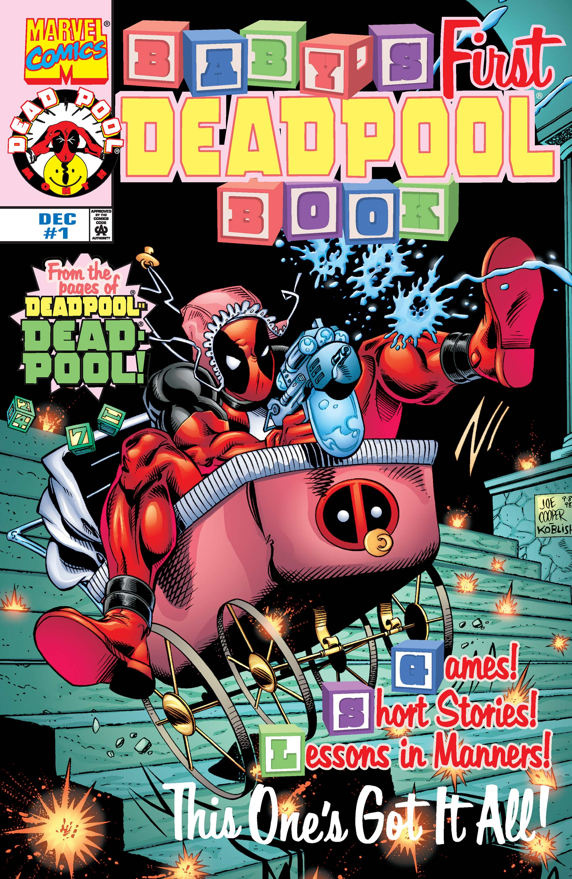 Baby's First Deadpool Book (1998) #1