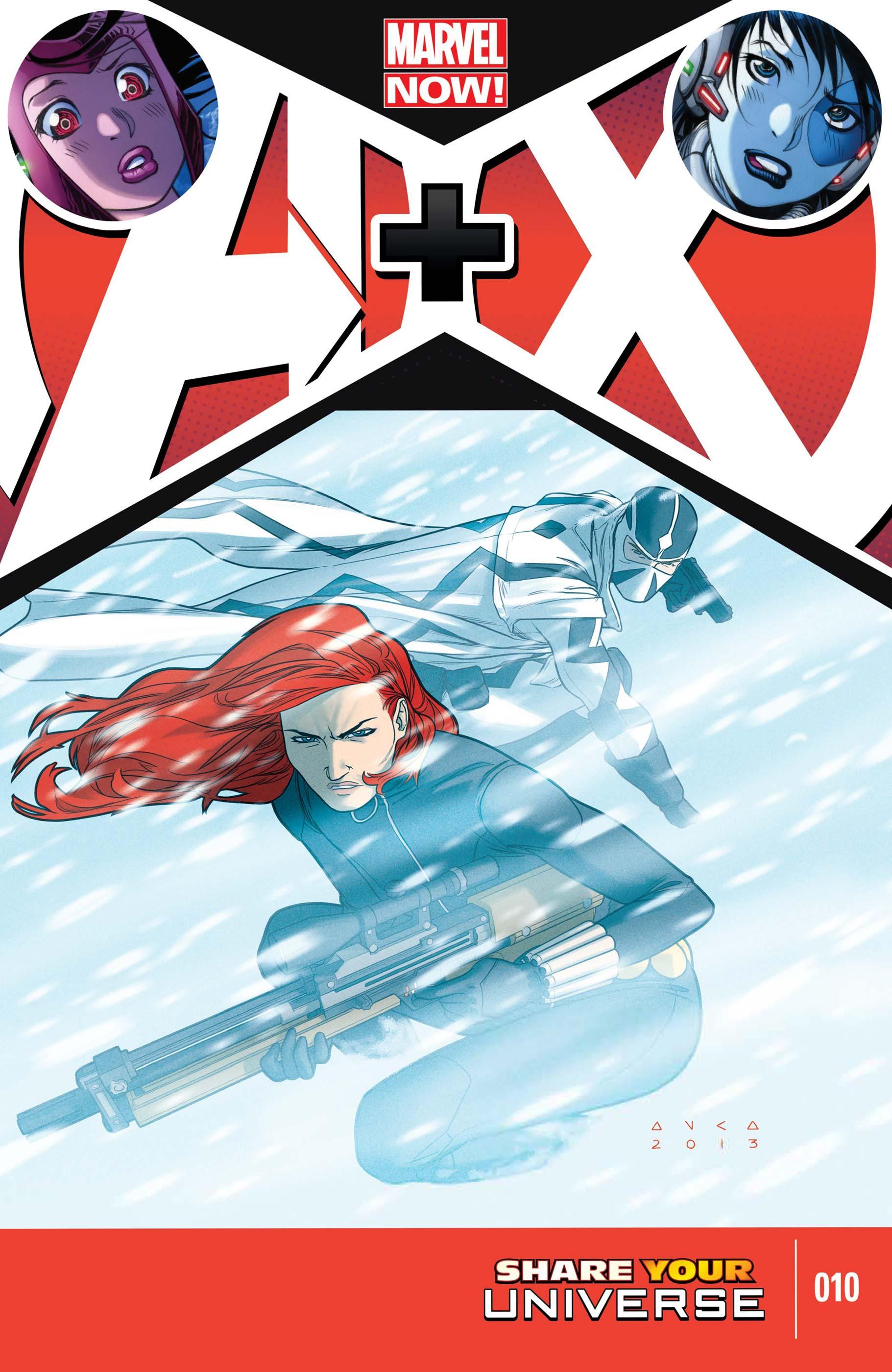 A+X (2012) #10