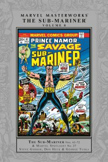 Marvel Masterworks: The Sub-Mariner Vol. 8 (Hardcover)