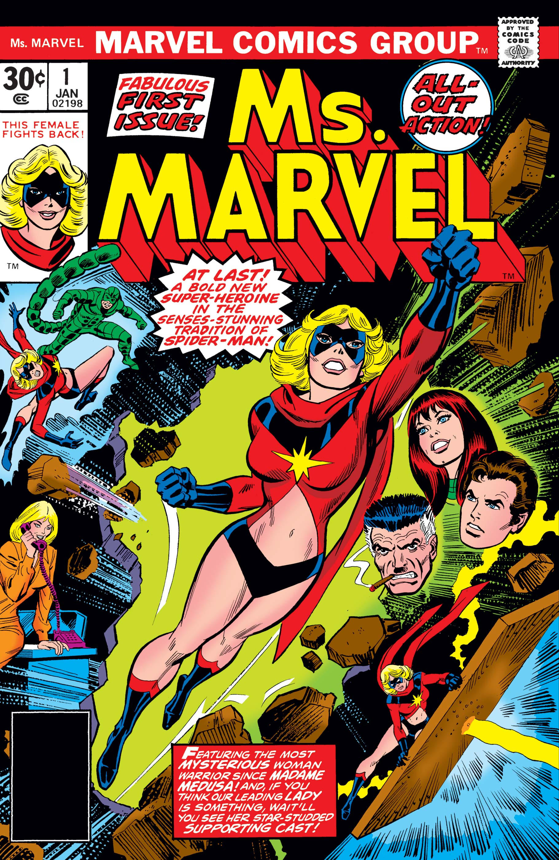 Ms. Marvel (1977) #1