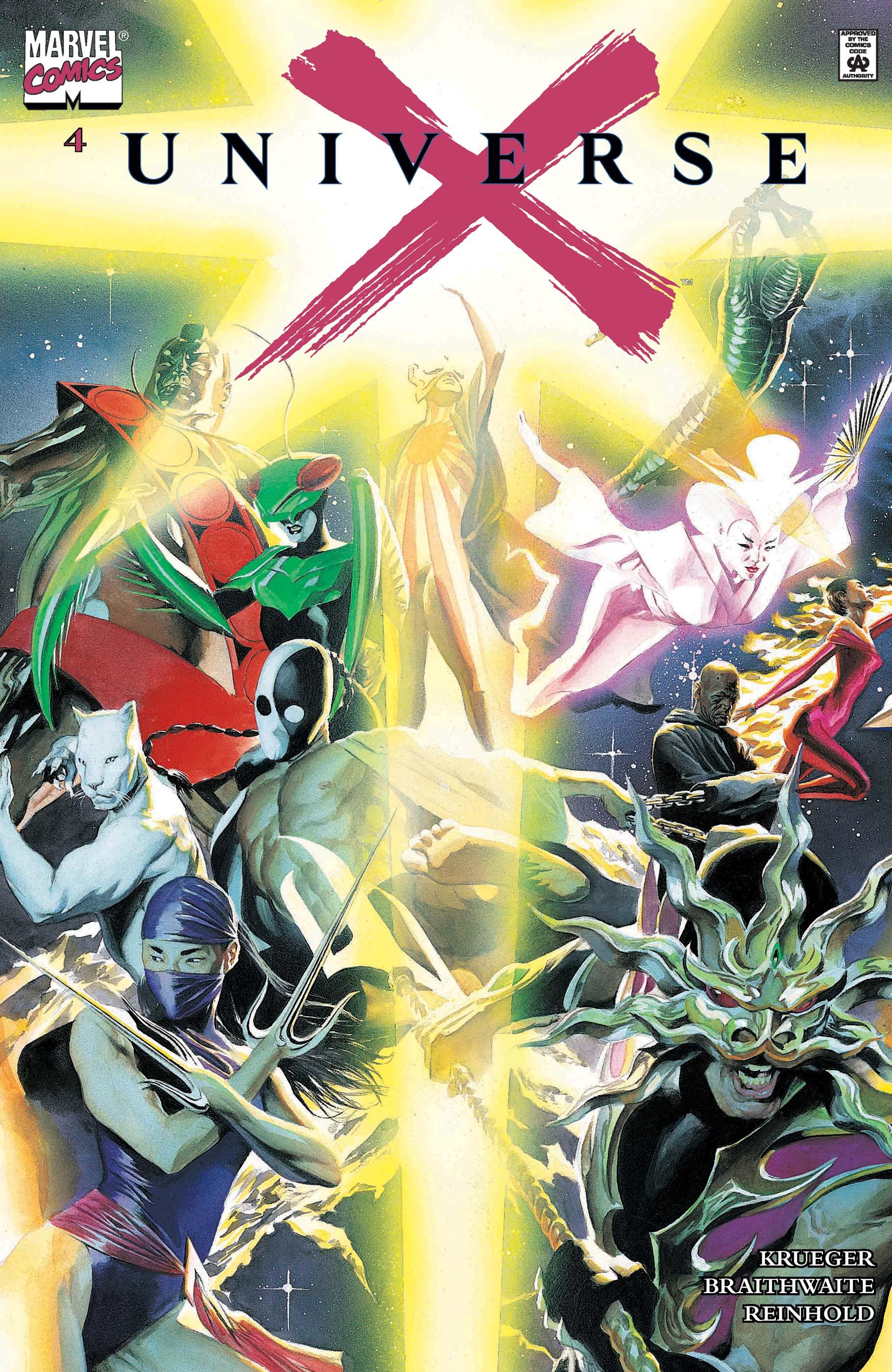 Universe X (2000) #4