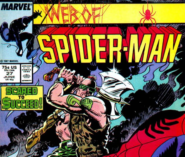 Web of Spider-Man (1985) #27