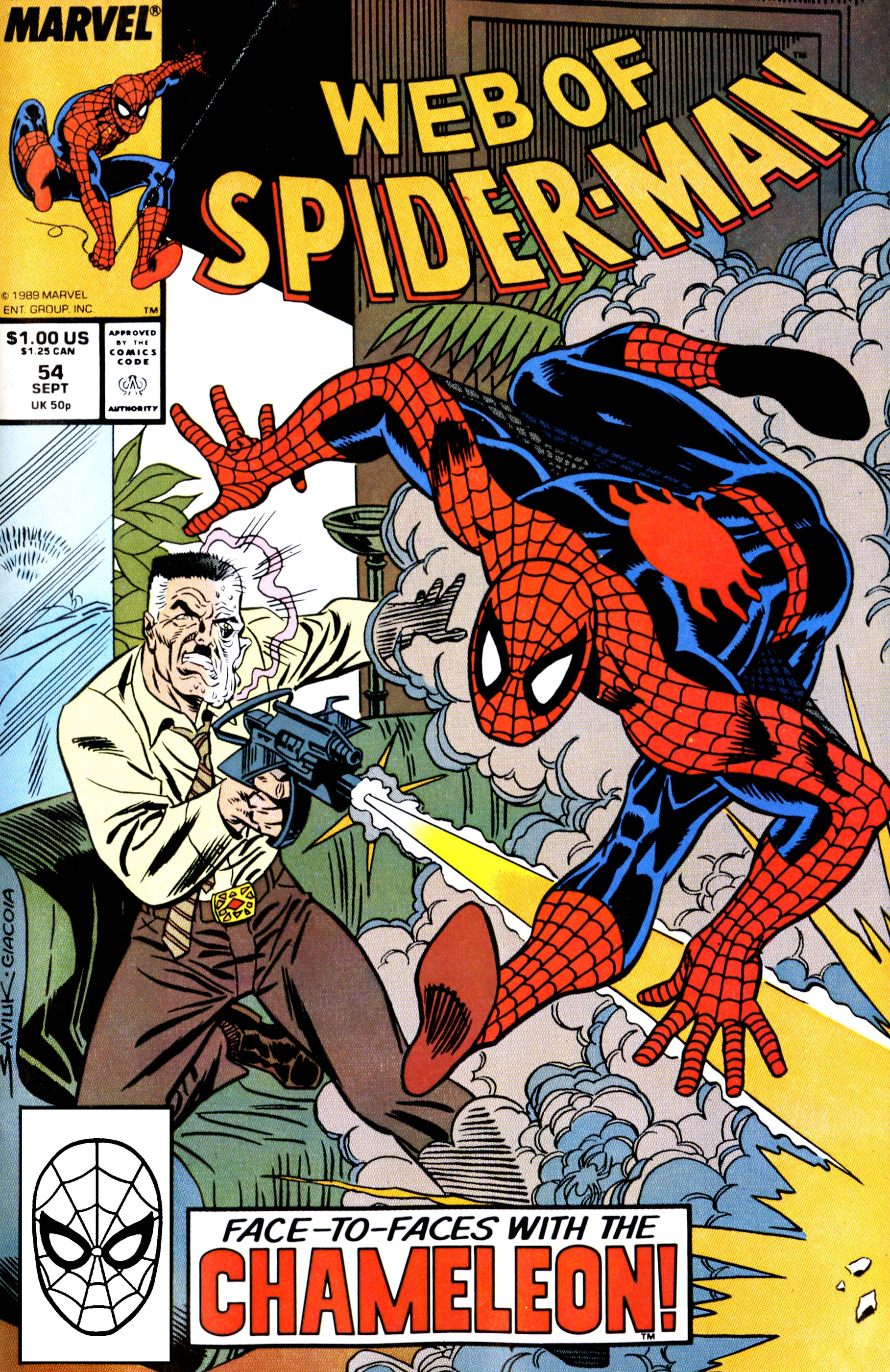 Web of Spider-Man (1985) #54