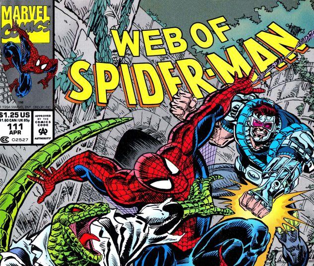 Web of Spider-Man (1985) #111