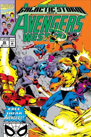 West Coast Avengers #80