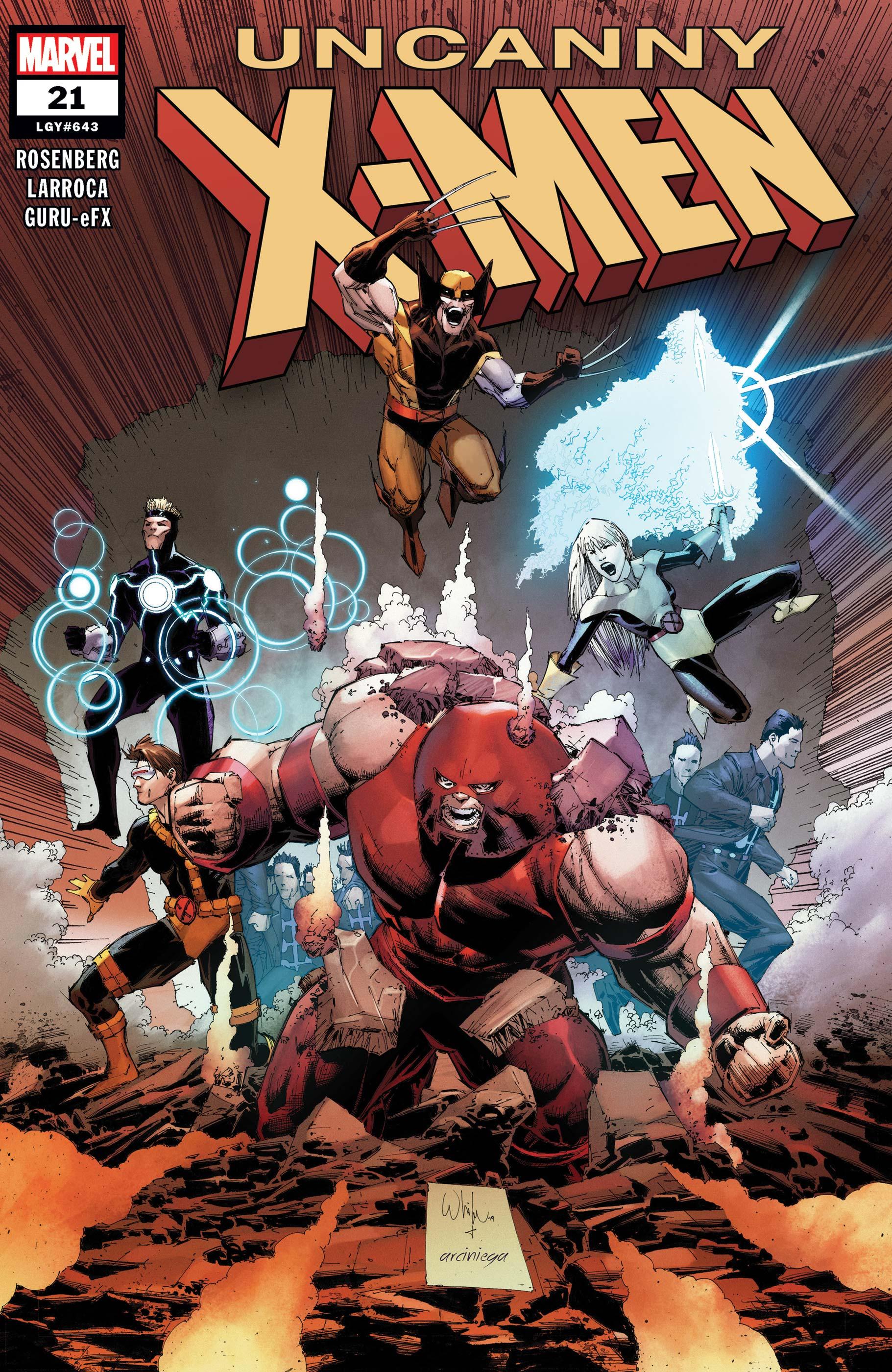 Uncanny X-Men (2018) #21