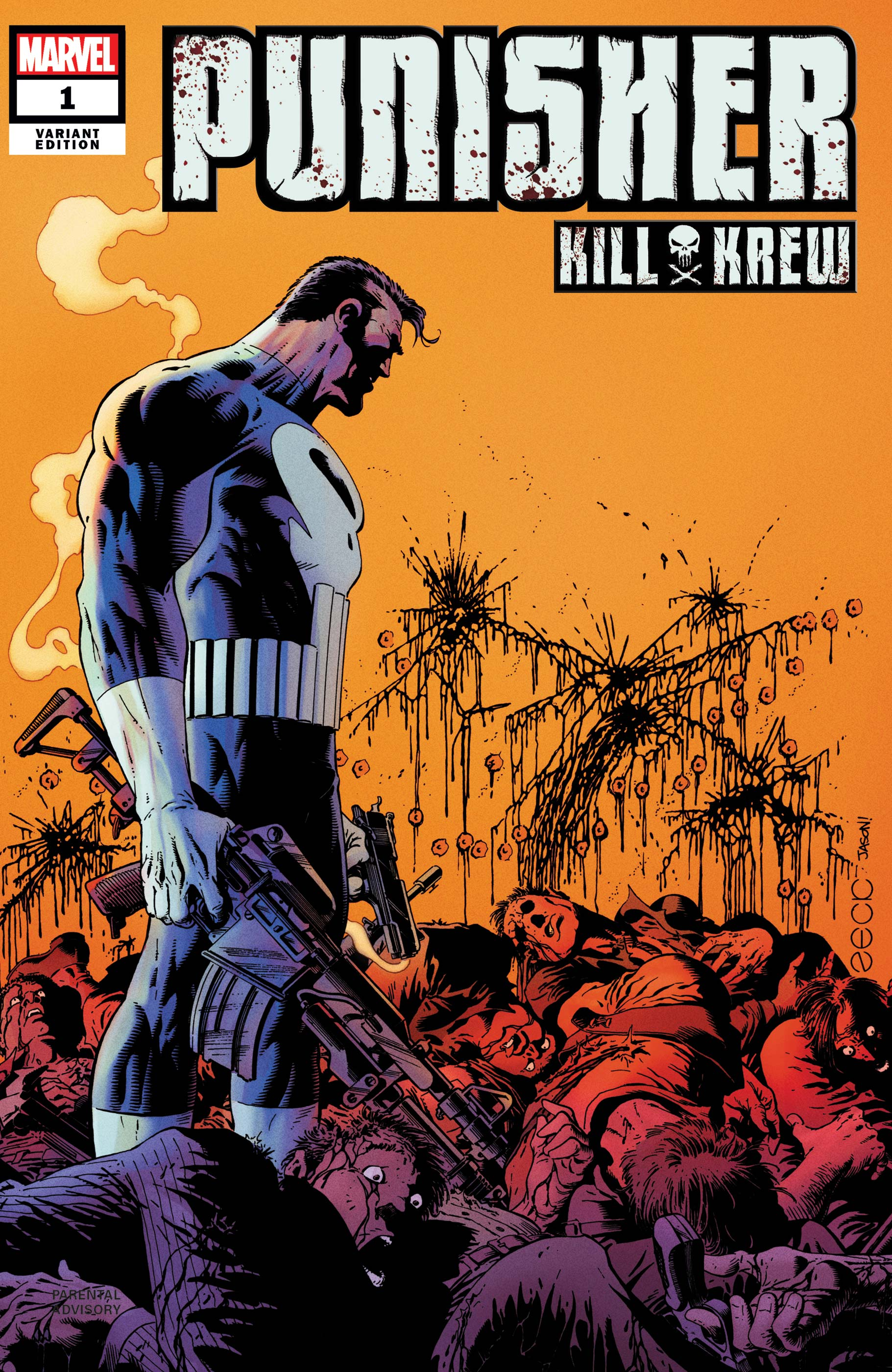 Punisher Kill Krew (2019) #1 (Variant)