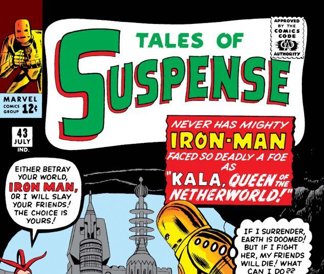 TALES OF SUSPENSE (1959) #43