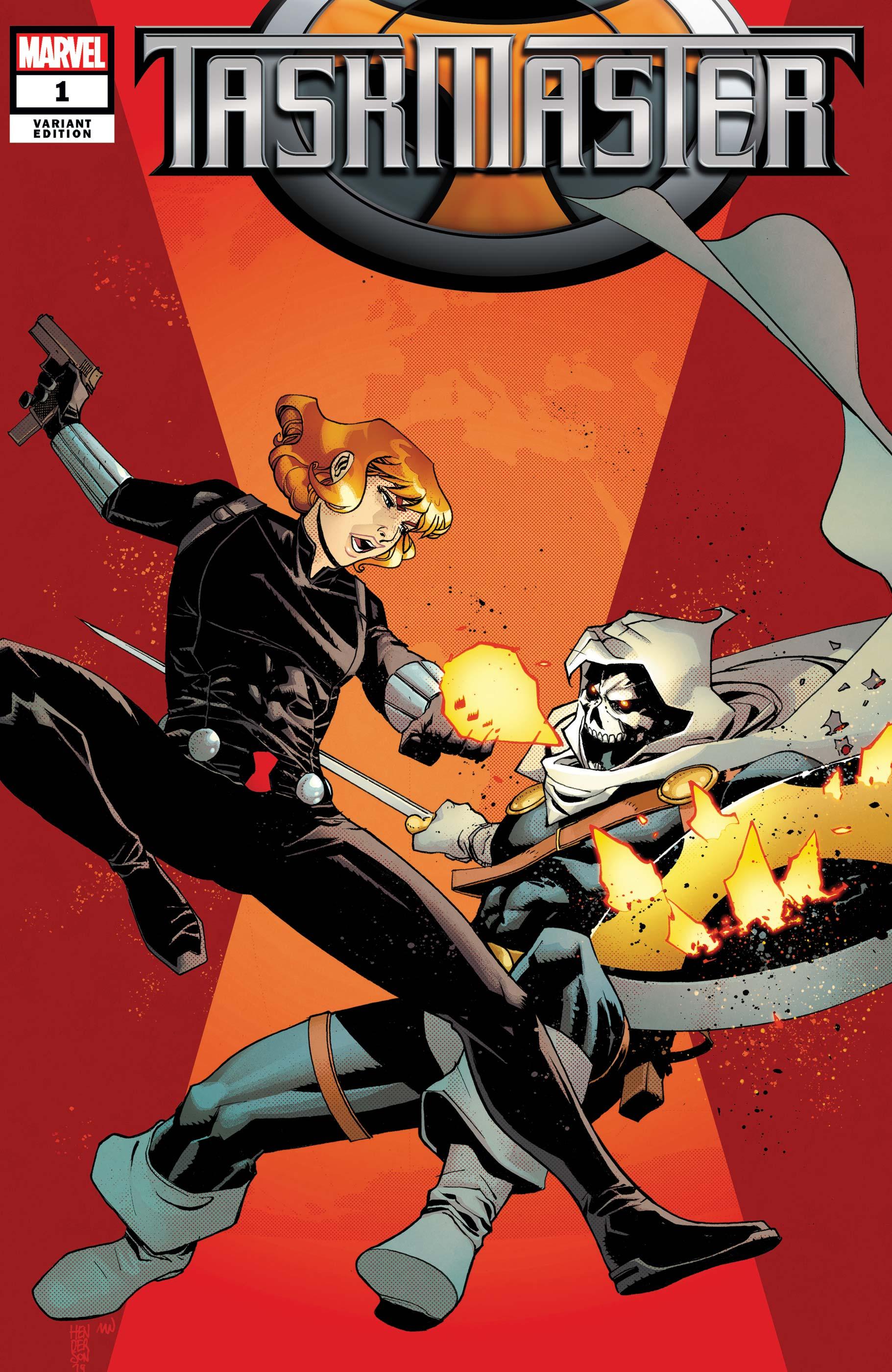 Taskmaster (2020) #1 (Variant)