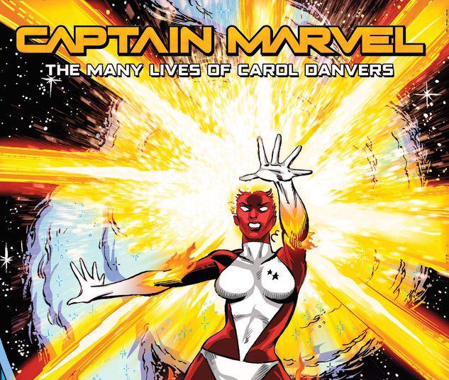 CAPTAIN MARVEL: THE MANY LIVES OF CAROL DANVERS TPB #1