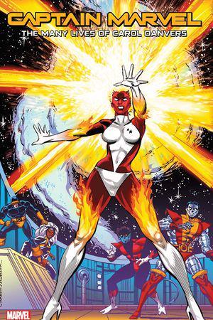 Captain Marvel: The Many Lives of Carol Danvers  (Trade Paperback)
