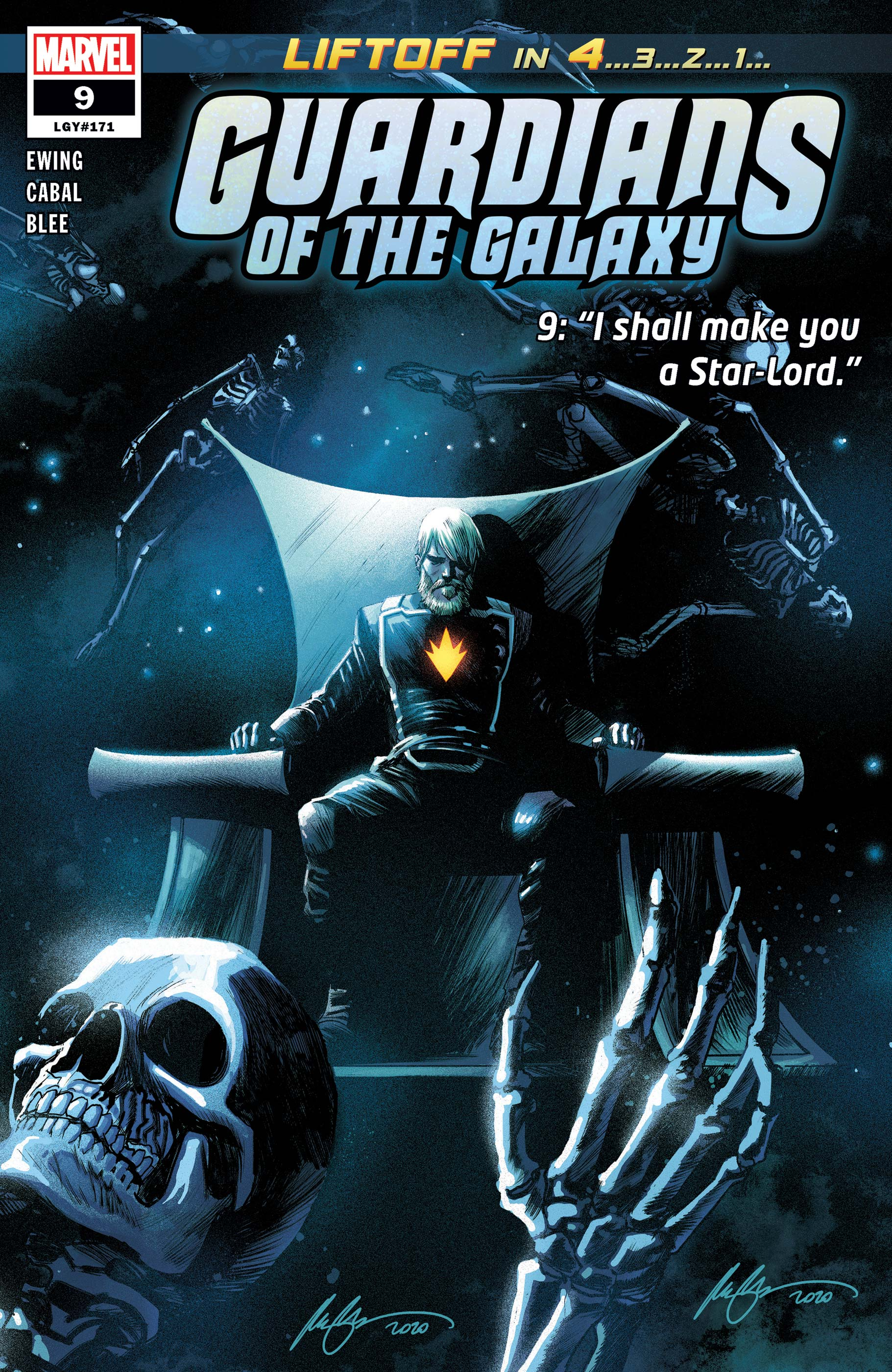 Guardians of the Galaxy (2020) #9