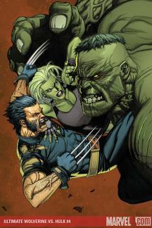 Ultimate Wolverine Vs. Hulk #4