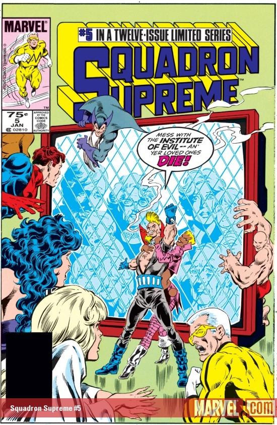 Squadron Supreme (1985) #5