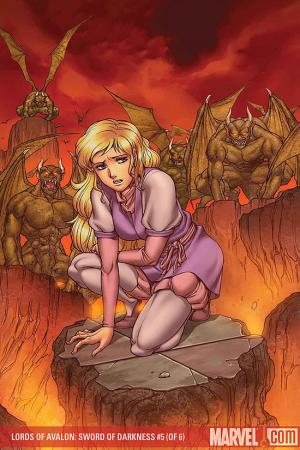 Lords of Avalon: Sword of Darkness (2008) #5