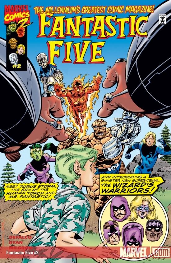 Fantastic Five (1999) #2