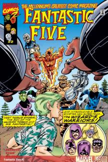 Fantastic Five (1999) #2