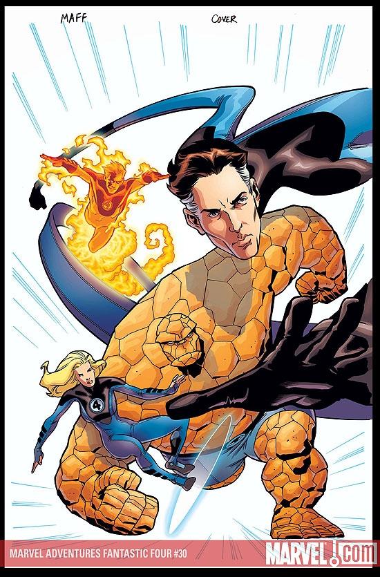 Marvel Adventures Fantastic Four (2005) #30
