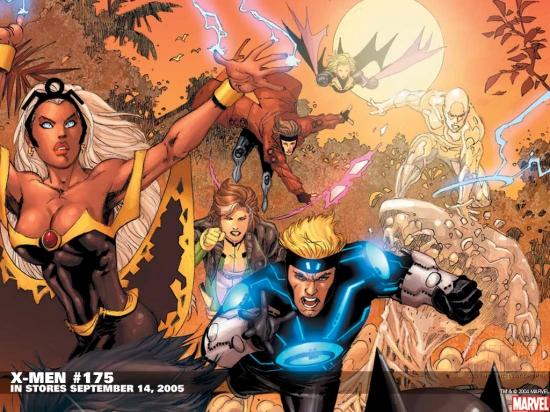 X-Men (2004) #175 Wallpaper