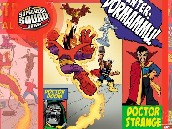 Super Hero Squad (2010) #5 Wallpaper