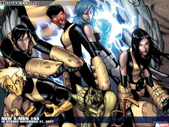 New X-Men (2004) #44 Wallpaper