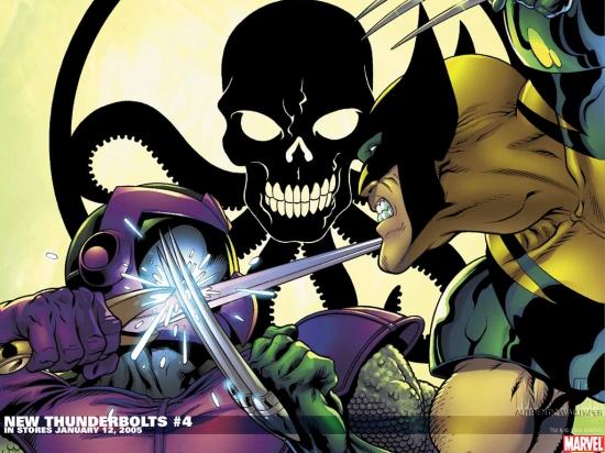 New Thunderbolts (2004) #4 Wallpaper