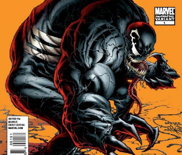 Venom (2011) #1 third printing variant cover by Joe Quesada