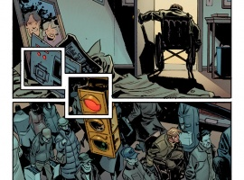 Venom (2011) #5 preview art by Tom Fowler