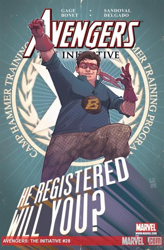 Avengers: The Initiative (2007) #28