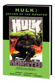 Hulk: Return of the Monster (Hardcover)