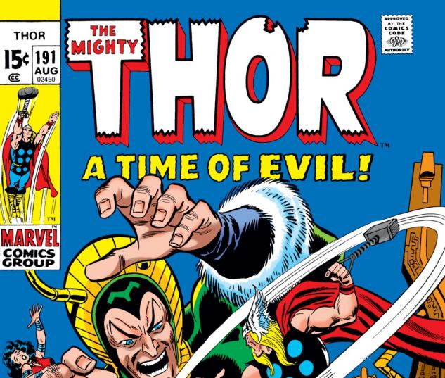 Thor (1966) #191 Cover