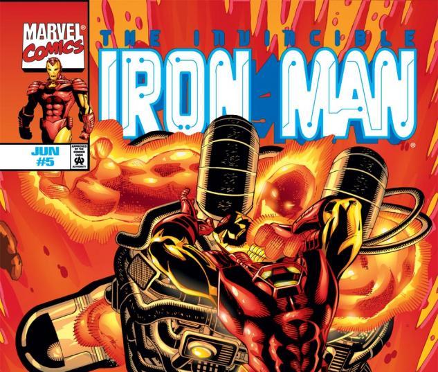 Iron Man (1998) #5 Cover