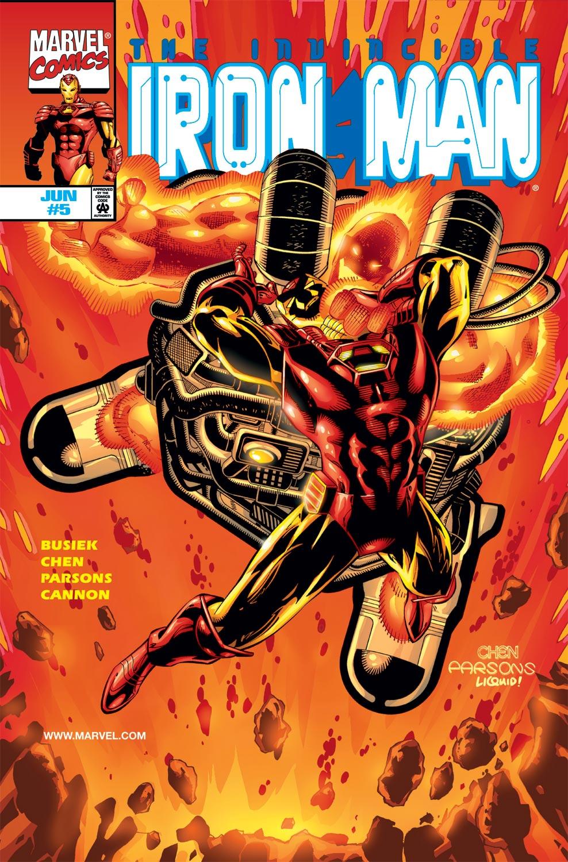 Iron Man (1998) #5