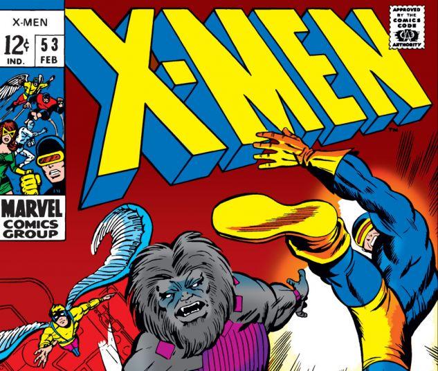Uncanny X-Men (1963) #53 Cover