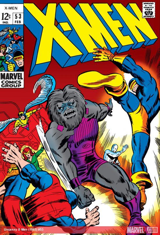 Uncanny X-Men (1963) #53