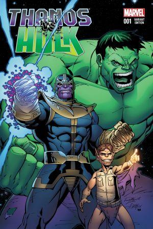 Thanos Vs. Hulk (2014) #1 (Lim Variant)