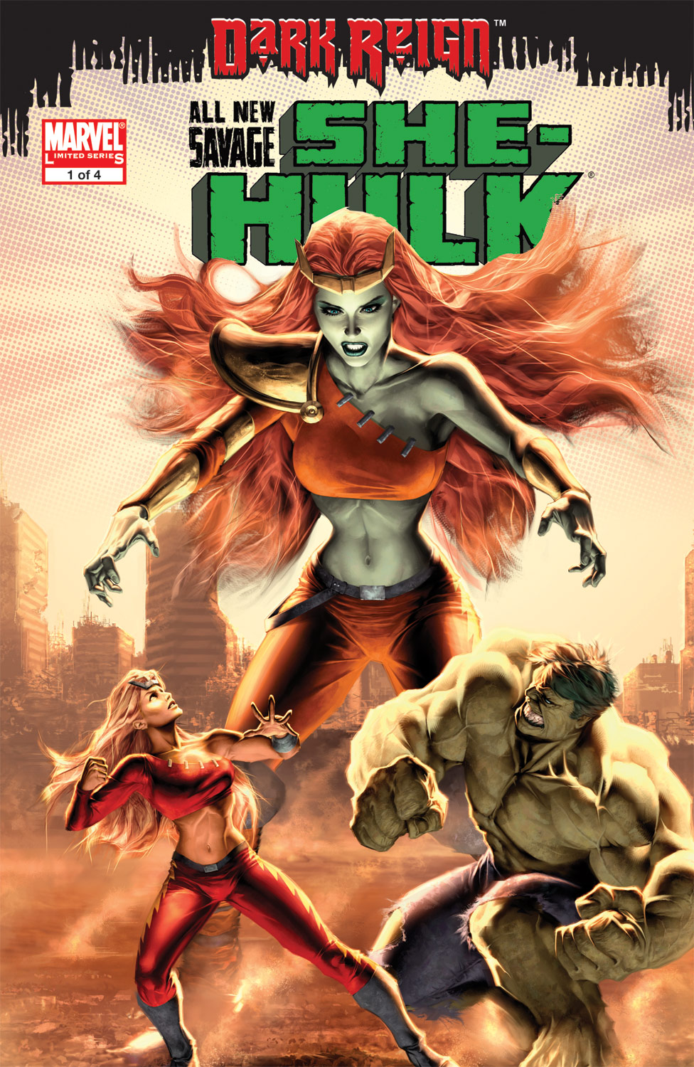 All-New Savage She-Hulk (2009) #1