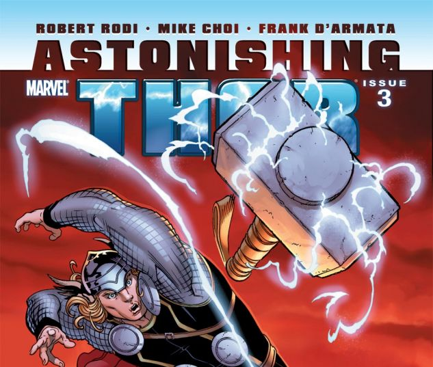 ASTONISHING THOR (2010) #3 Cover