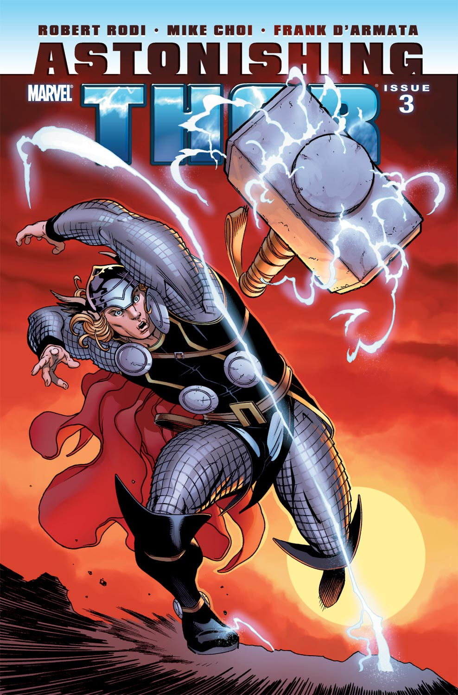 Astonishing Thor (2010) #3