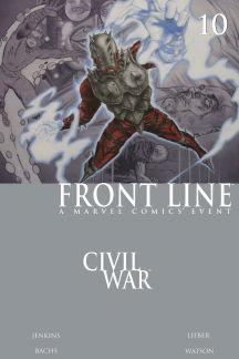 Civil War: Front Line #10