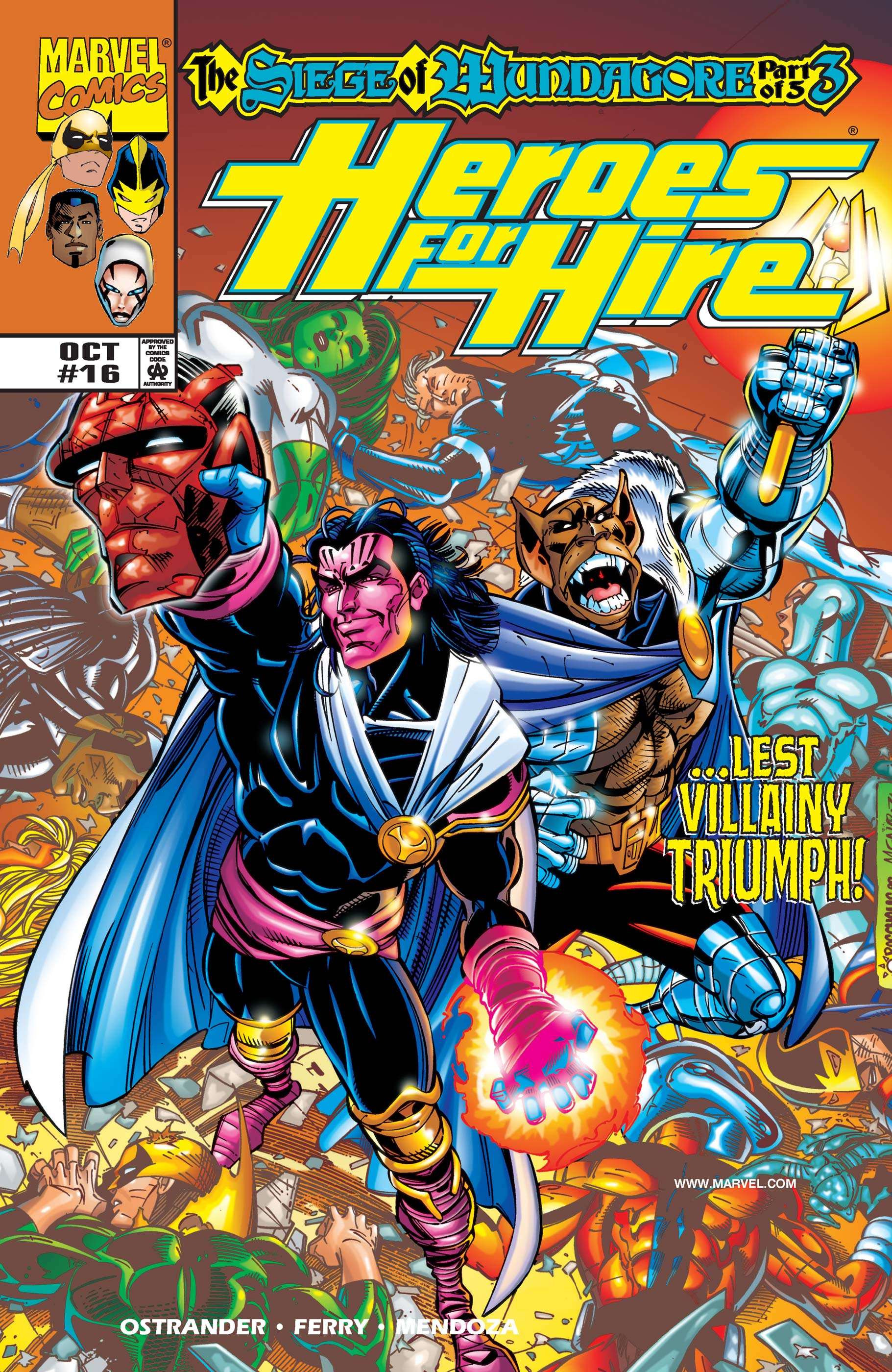 Heroes for Hire (1997) #16