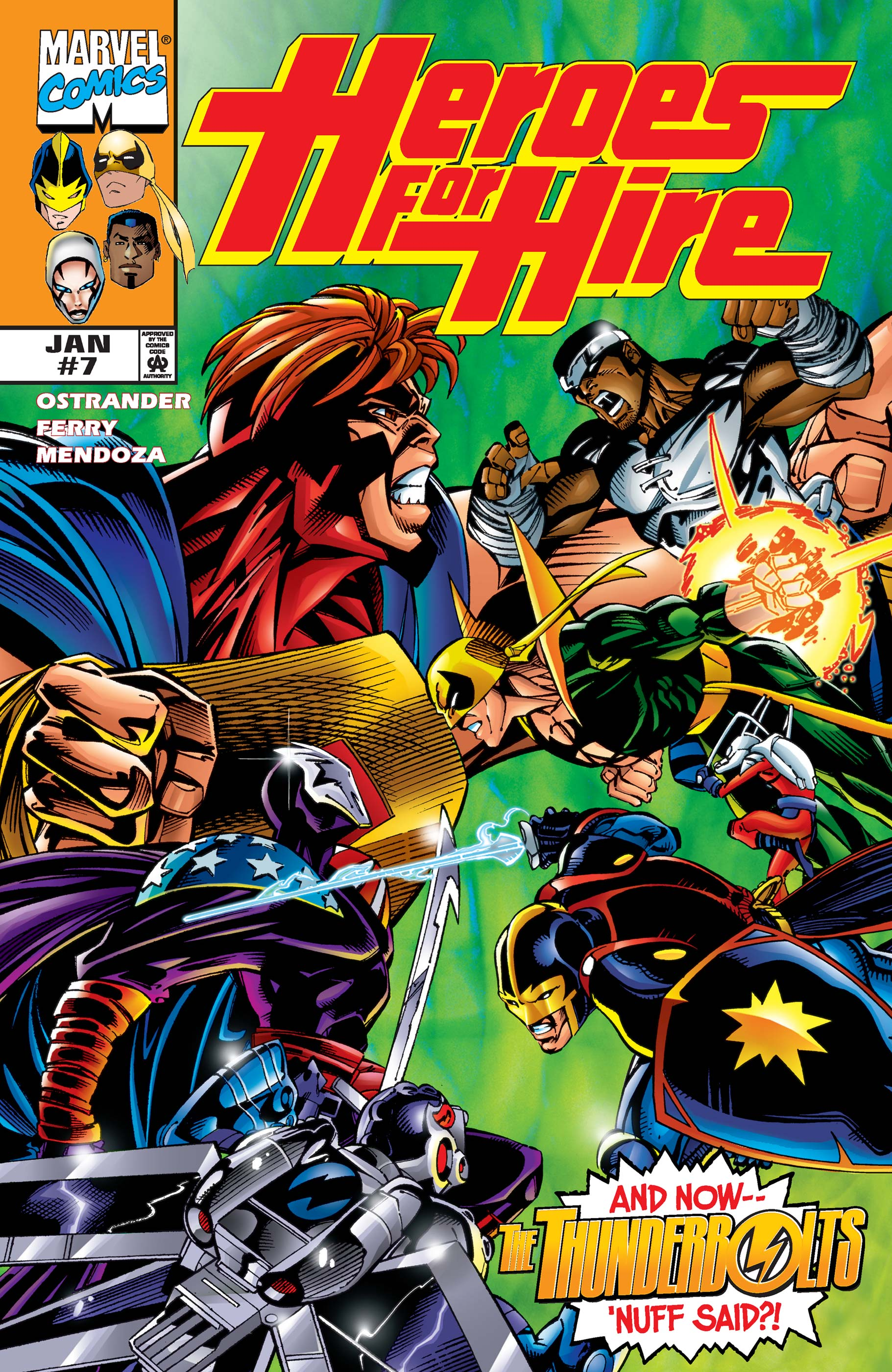 Heroes for Hire (1997) #7
