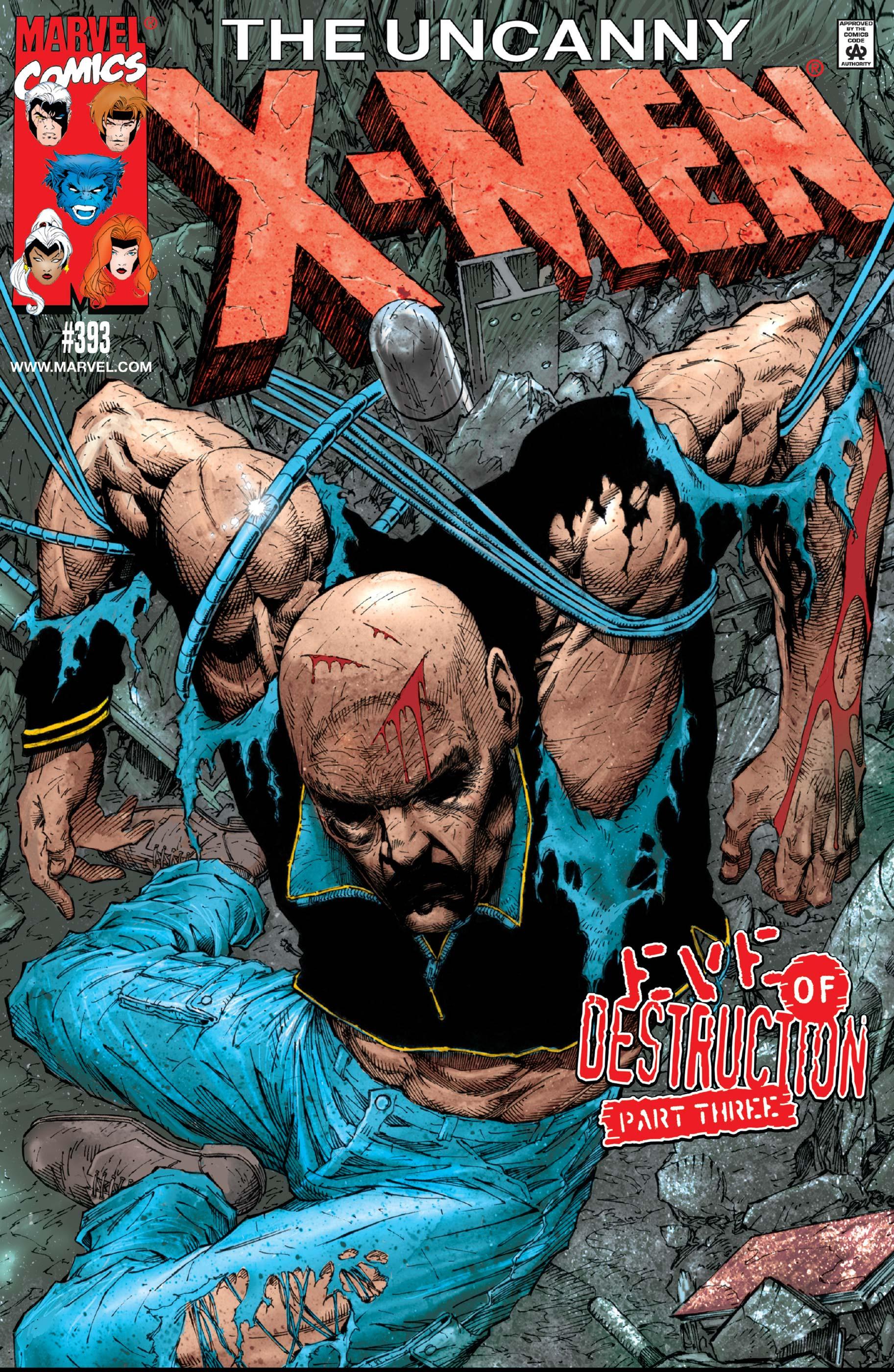 Uncanny X-Men (1963) #393