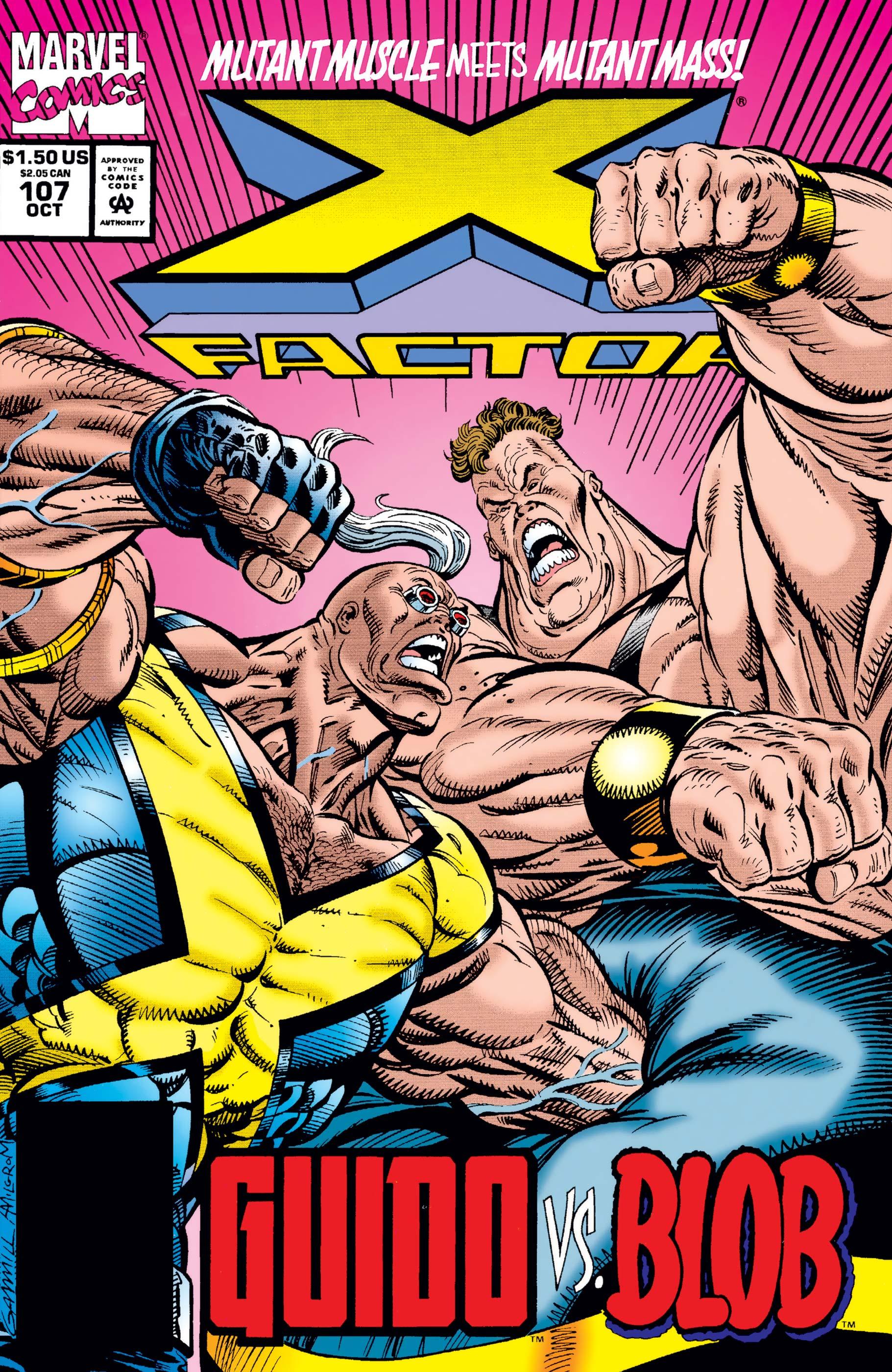 X-Factor (1986) #107