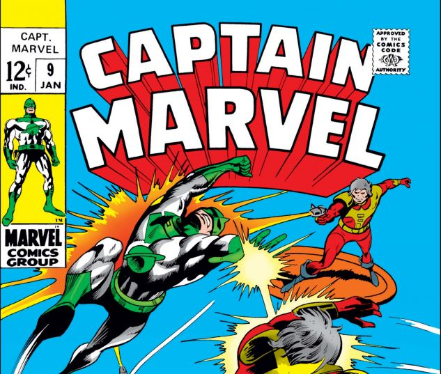 CAPTAIN MARVEL (1968) #9