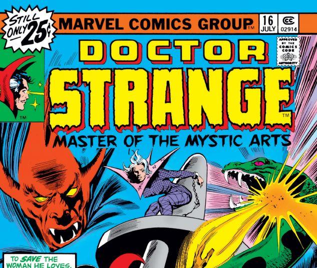 Doctor Strange (1974) #16