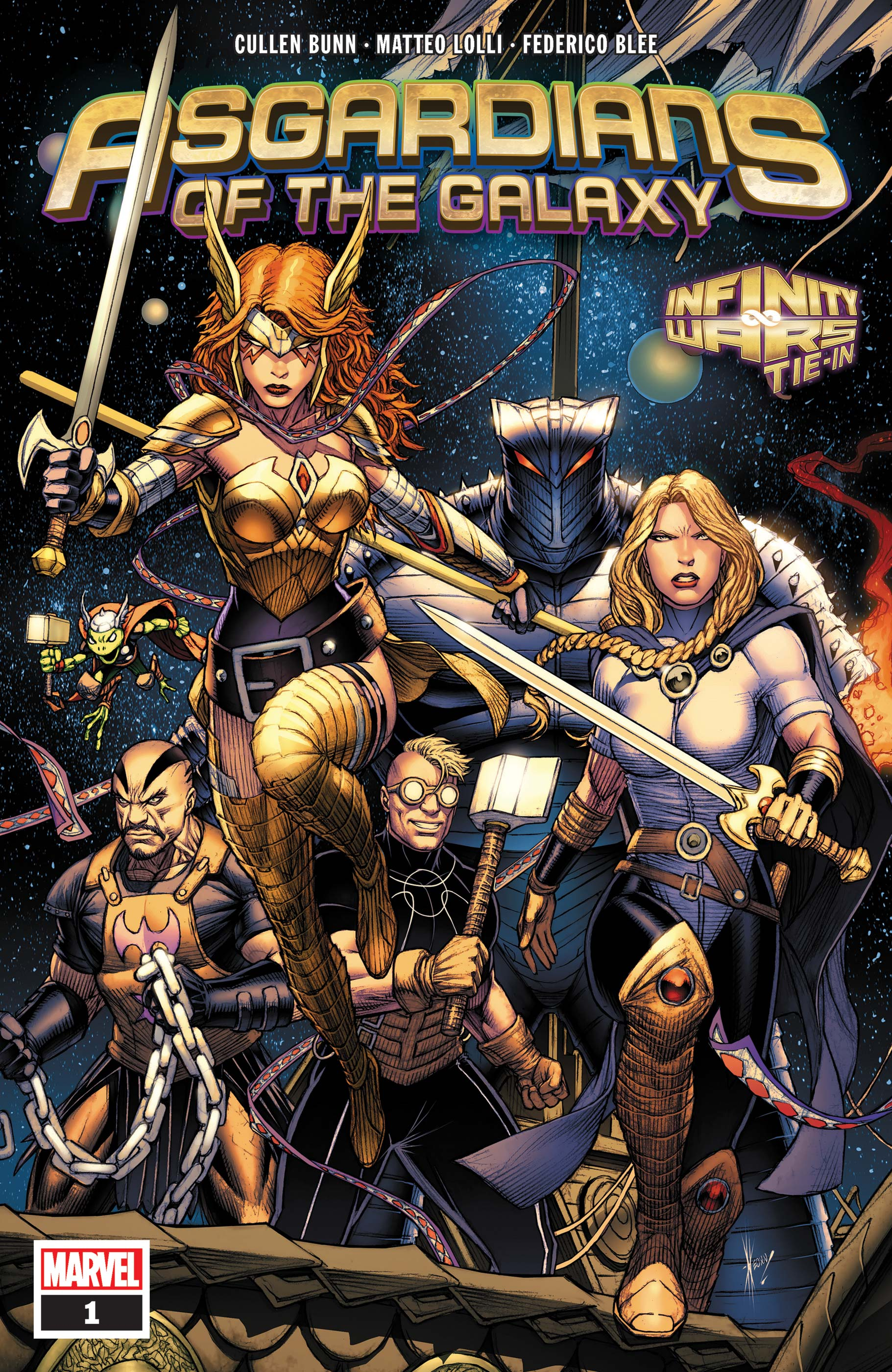 Asgardians of the Galaxy (2018) #1