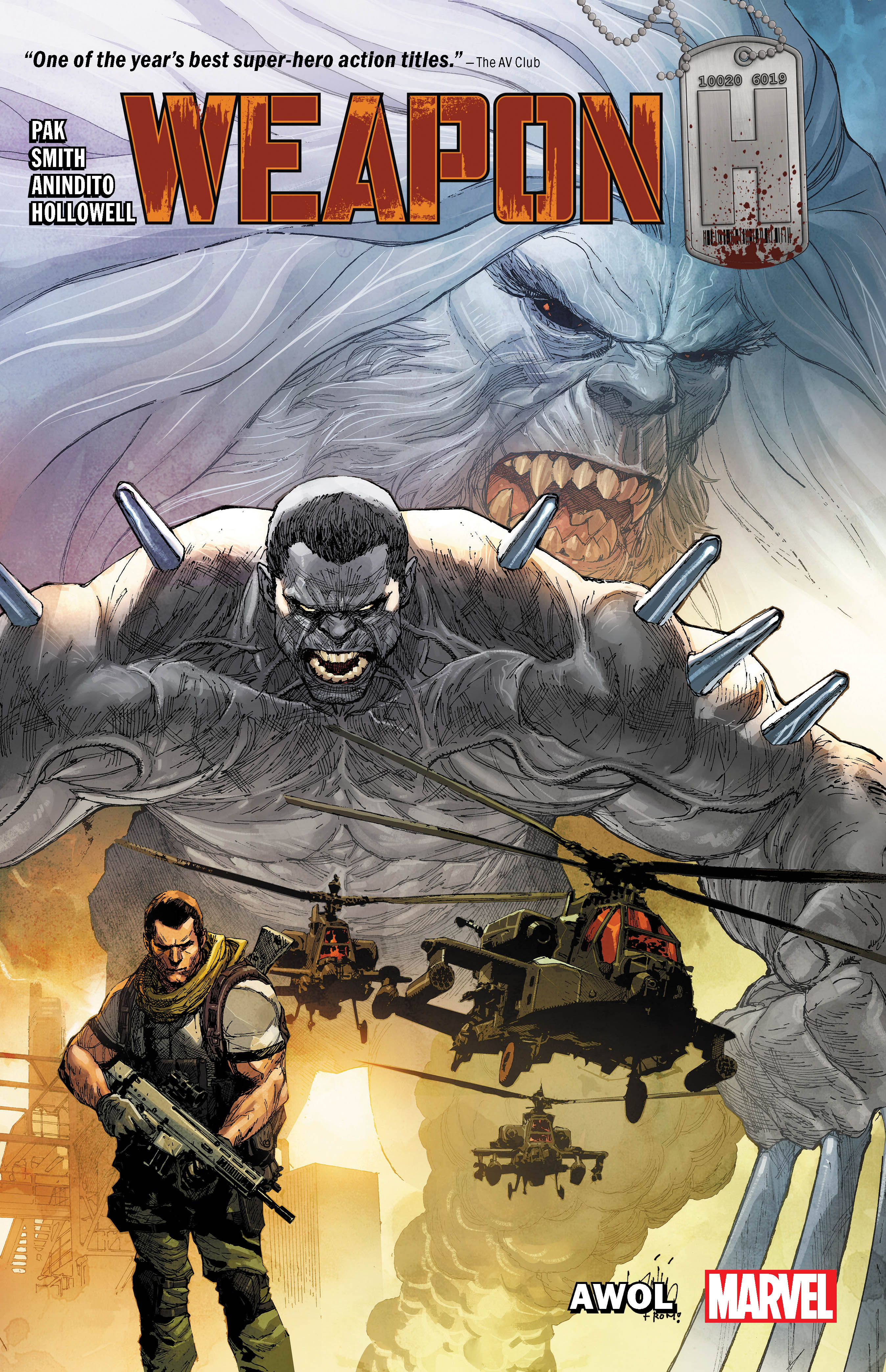 Weapon H Vol. 1: AWOL (Trade Paperback)