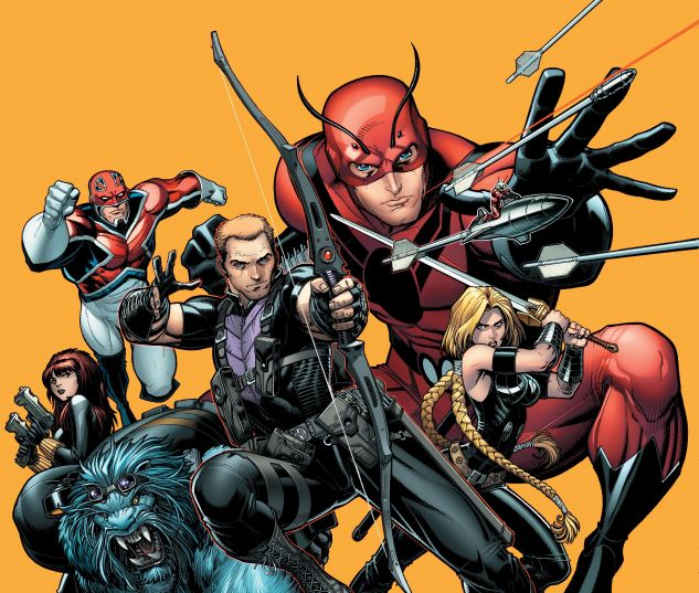 cover from SECRET AVENGERS BY RICK REMENDER: THE COMPLETE COLLECTION TPB (2019) #1